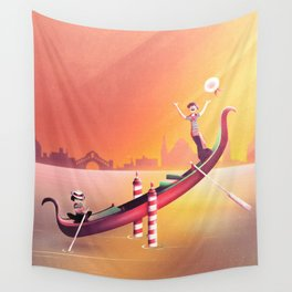 Venice Seesaw Wall Tapestry
