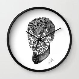 Eyesface Wall Clock