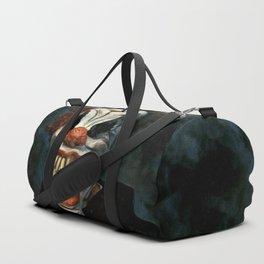 Scary Clown Blue Smoke Duffle Bag