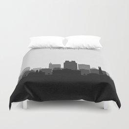 City Skylines: Raleigh Duvet Cover