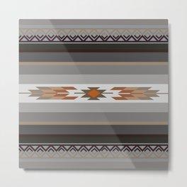American Native Pattern No. 126 Metal Print