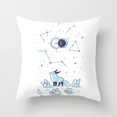 Arctic Nights Throw Pillow