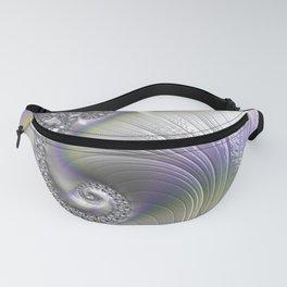 Fractal Art-Opalescent Shell Fanny Pack