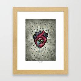 Heartache Framed Art Print