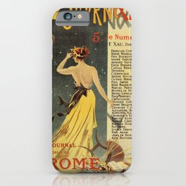 Rome by Emile Zola iPhone Case