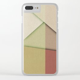 Oil and Wine Clear iPhone Case