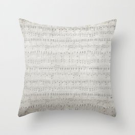 "MUSIC by collection ""Music"" Throw Pillow"