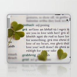 Love in Irish Laptop & iPad Skin