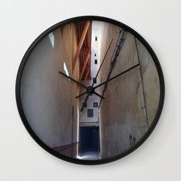 Moroccan alley. Wall Clock