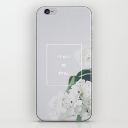 Peace, Be Still iPhone Skin