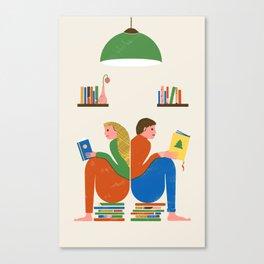 READERS Canvas Print