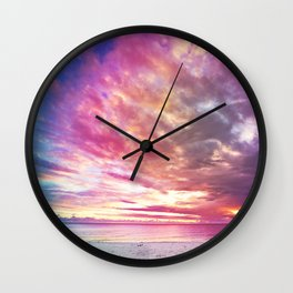 BLAZE OF GOODNESS Wall Clock