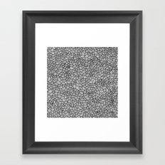 Scallops Framed Art Print
