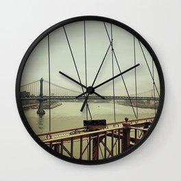 Hudson River Wall Clock
