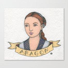 Catherine of Aragon Canvas Print