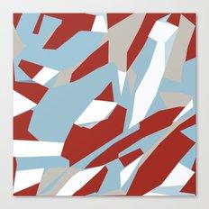 Hastings Zoom Red Canvas Print