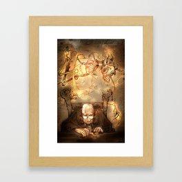 A Christmas Carol Framed Art Print