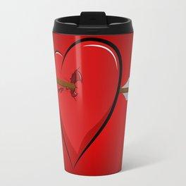wounded heart Travel Mug