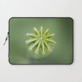 Hungarian Blue Bread Seed Poppy | Seed Pod Laptop Sleeve