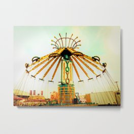 The Yo-Yo Metal Print