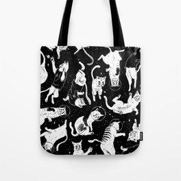 YONIL Space Program pattern Tote Bag