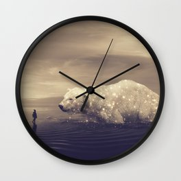 retrouvailles II Wall Clock