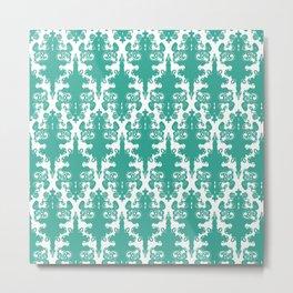 Pattern B Metal Print