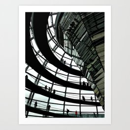 Inside the Dome Art Print
