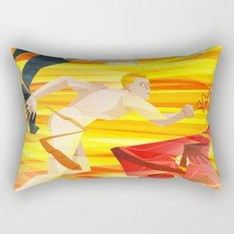 The Flasher Rectangular Pillow