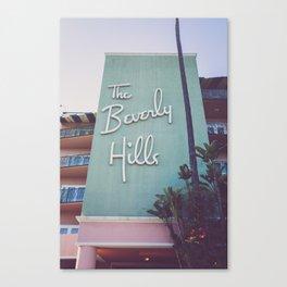 Beverly Hills Mod Canvas Print