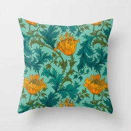Garden Ornament Throw Pillow
