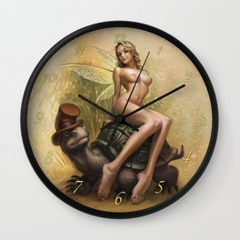 Tortughada Wall Clock