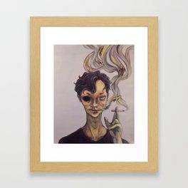 The Poisoned Framed Art Print