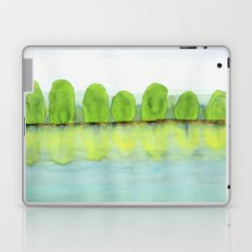 Trees Refecting On The Water Laptop & iPad Skin
