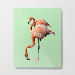 Pink pair Metal Print
