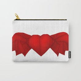 Origami Flying Heart Carry-All Pouch