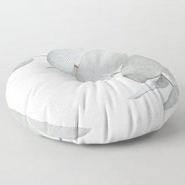 EUCALYPTUS WHITE 3 Floor Pillow