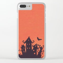 Halloween cl17 Clear iPhone Case