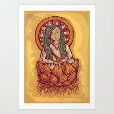 Benzaiten Art Print