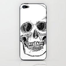 Simple Skull iPhone & iPod Skin
