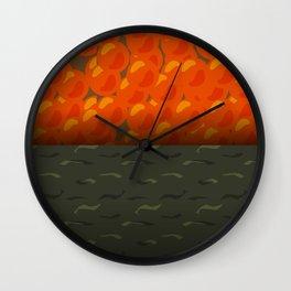 Ikura Gunkan - the Yummy Collection Wall Clock