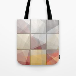 Abstract triangle art Tote Bag