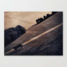 That Sense Canvas Print
