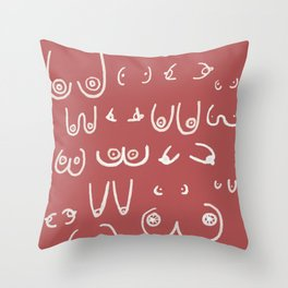 You're perfect. All of you. Don't let them jerks tell you otherwise Throw Pillow