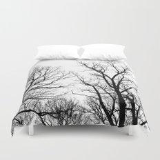 Trees & Sky Duvet Cover