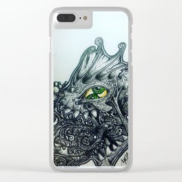 Anatomy of a Lie Clear iPhone Case