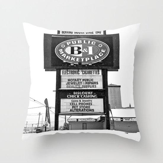 Frozen B&I Throw Pillow