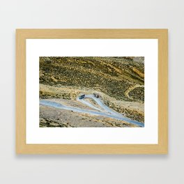 Gata Loops on Manali Leh road on the way to Ladakh Framed Art Print