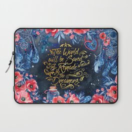 Saved by the Dreamers Laptop Sleeve