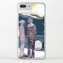Spot Clear iPhone Case